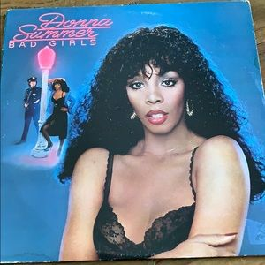 Donna Summers Bad Girls Records